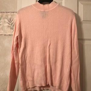 Laura Scott Sweater - Light Pink - Large (14-16)